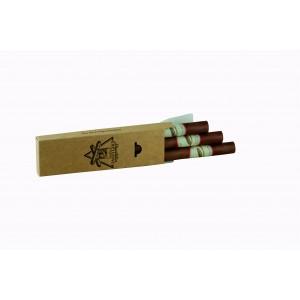 Etui 3 cigares (B. Prune - V. Poire - Calvados) - 3x3 cl - 40%
