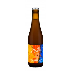 """Bière Spéciale """"LA WELCHE"""" - 5.5% vol - 33cl"""