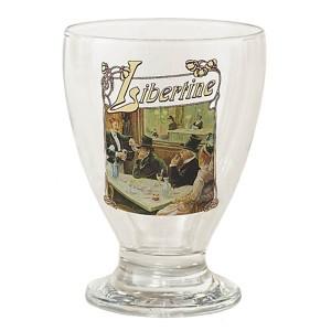 6 verres sérigraphiés Libertine